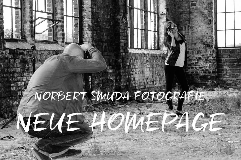 Neue Homepage von Smuda Fotografie